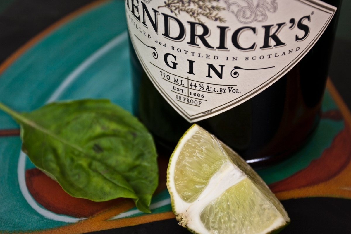 Hendrick's Gin Part One: The Taste Test