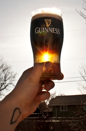 Here's to you St. Patty!