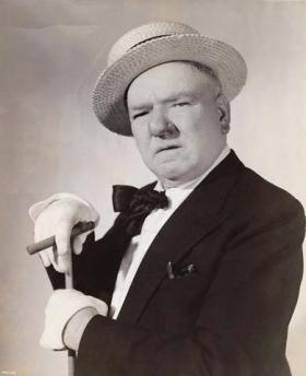 Comedian W.C. Fields