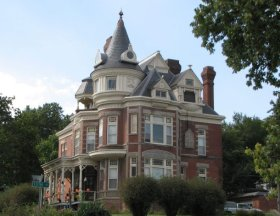 Atchison is also home to one of the state's most well-known haunted houses.