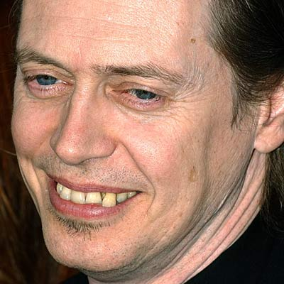 Kind of like Steve Buscemi