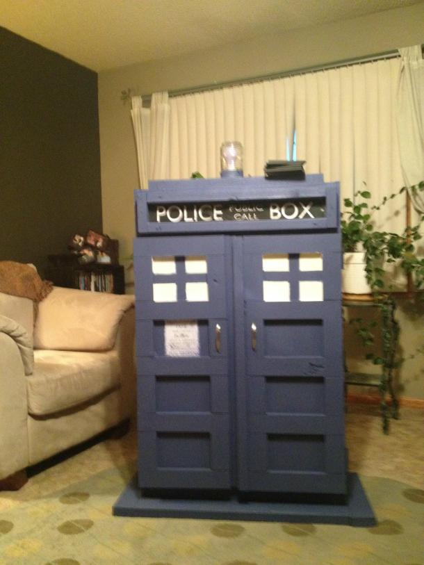 Although, we do happen to have a TARDIS in our test bar.