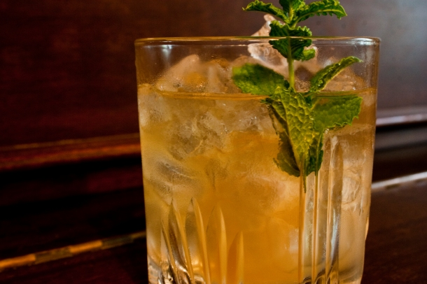 The Real Georgia Mint Julep
