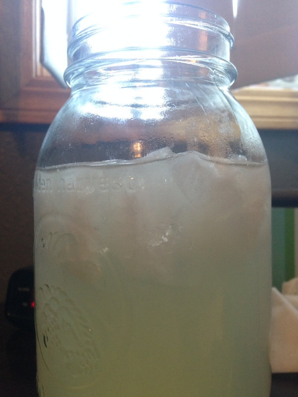 Moonlight Lemonade in Afternoon Sun