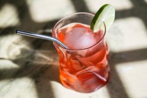 Cherry Limeade Spritzer | ® Cocktails, 365