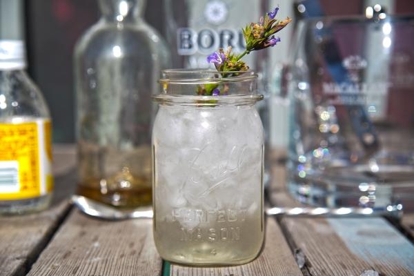 Lavender Vodka Tonic