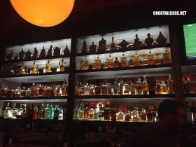 The Bourbon and Baker in Manhattan has a truly impressive whiskey (and spirit) offering. | ® Cocktails, 365