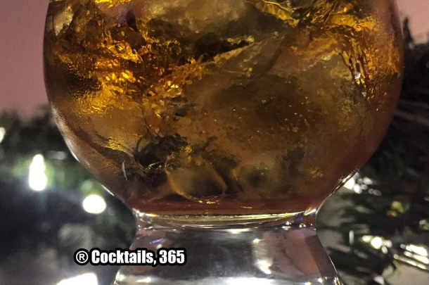 Jack Daniel's Single Barrel Whiskey On the Rocks
